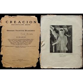 Creación. Revista Internacional de Arte. Número 1 - abril 1921