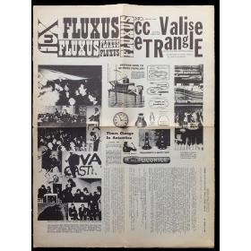 """Fluxus Magazine ccV TRE. """"Fluxus cc Valise eTRanglE"""", No. 3, March 1964"""