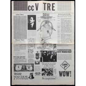 "Fluxus Magazine ccV TRE. ""Fluxus cc V TRE Fluxus"", No. 2, February 1964. Single issue"