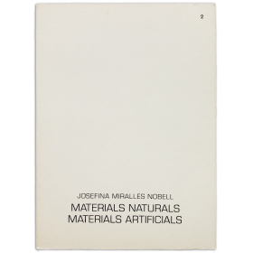 Materials naturals, materials artificials