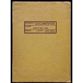 Sessions de treball - Jordi Benito, Manel Rovira (Proyecto Documentos). La Sala Vinçon, Barcelona, 13,14,16,17,18 abril 1973