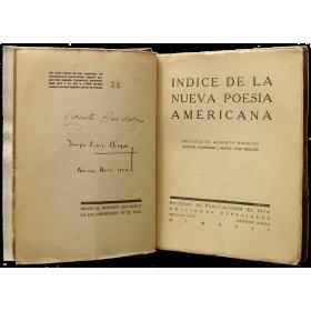 Índice de la nueva poesía americana