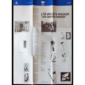 """A 50 años de la asociación """"arte concreto-invención"""". ICI de Buenos Aires, Centro Cultural, julio 1995"""