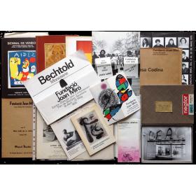 Conjunto documental Fundación Joan Miró (1975-1986)