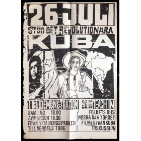 26 juli Kuba stöd det revolutionära