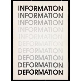 """""""Information-Deformation"""" - Guillermo Deisler, 1993"""
