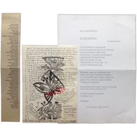 """""""Albadaran"""" für Guillermo Deisler - Wilhelm Bartsch"""