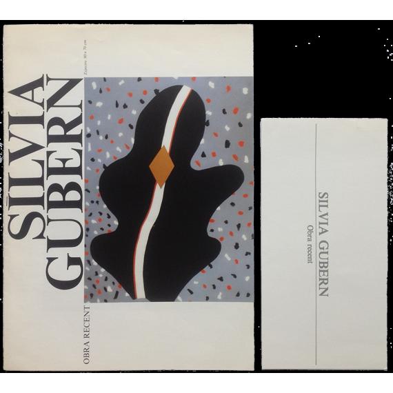 Silvia Gubern - Obra recent. Centre Cultural de la Caixa d'Estalvis de Terrassa, del 5 al 25 de juny de 1984