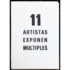 11 artistas exponen múltiples. La Casa del Siglo XV, Segovia, del 29 de abril al 18 de mayo de 1972