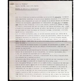 """Colectivo """"Polémica"""" - [Pere Noguera]. Galería Juan Más, Madrid, junio 1976"""