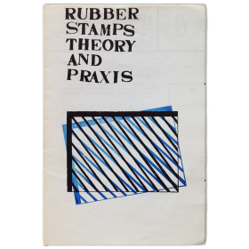 Rubber stamps theory and praxis. Rubber, nº 6. First year, june 1978, a monthly bulletin of rubberstamps works