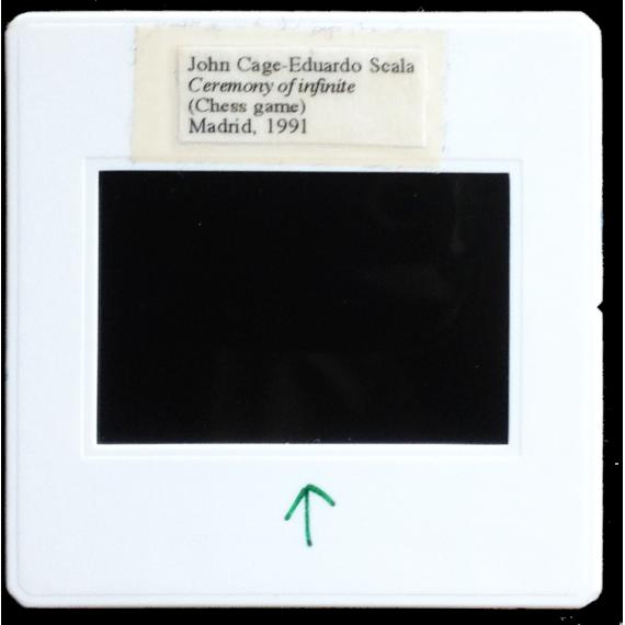 [Rito del Infinito - Ceremony of infinite: John Cage y Eduardo Scala, Madrid, 1991]