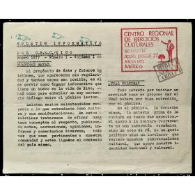 Boletín Informativo del C.R.E.C./Xico, Enero 1977 - Número I - Volumen I