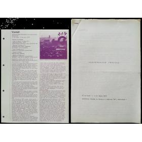 Vostell - Detrás del árbol (Duchamp no ha comprendido Rembrandt). Galería G, Barcelona, 12 de Mayo - 5 de Junio 1976