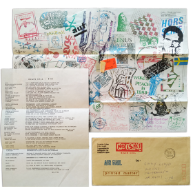 Ryosuke Cohen - Brain Cell nº 113, 22 Dec. 1988 [mail art]