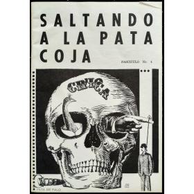 """Saltando a la pata coja. Fascículo No. 4 de la revista """"La Pata de Palo"""". Mayo, 1971"""