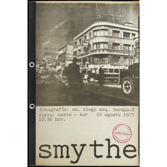 Smythe. Galería Cromo, Santiago de Chile, septiembre-octubre 1977