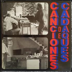 CANCIONES DE CADAQUÉS. Barks from Cadaqués. Hundelieder