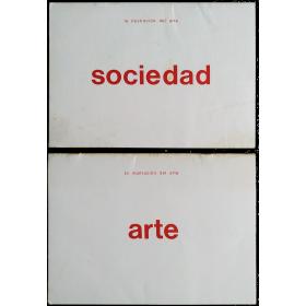Antonio Dias. La ilustración del arte - Arte / La ilustración del arte - Sociedad. CAyC, Buenos Aires, noviembre 1973