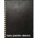 Hans Joachim Dietrich en el Centro de Arte y Comunicación. Buenos Aires, Septiembre 1973