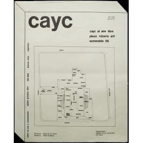 """""""CAyC al Aire Libre"""". Plaza Roberto Arlt, Buenos Aires, 23 de septiembre de 1972"""