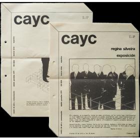Regina Silveira, Exposición. CAyC Centro de Arte y Comunicación, Buenos Aires, Julio 1975