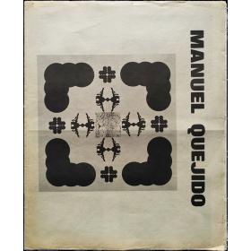 Manuel Quejido. Galería Buades, Madrid del 3 al 18 de junio de 1974