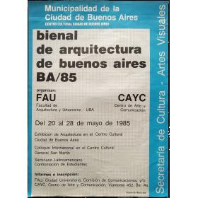 Bienal de Arquitectura de Buenos Aires BA/85