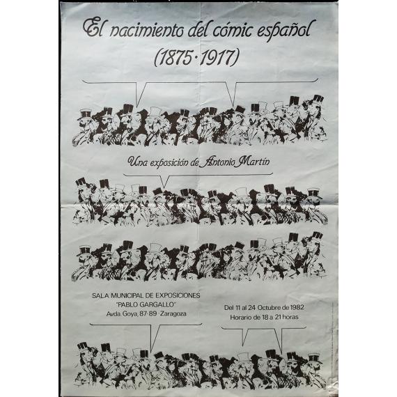El nacimiento del cómic español (1875-1917). Una exposición de Antonio Martín