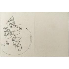 El Circo de Mathias Goeritz. Una serie de dibujos editada por la Galería Camarauz