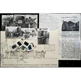 """Marcos Kurtycz - """"Exprocesión"""". Guadalajara, México, del 12 de agosto al 6 de septiembre de 1977"""