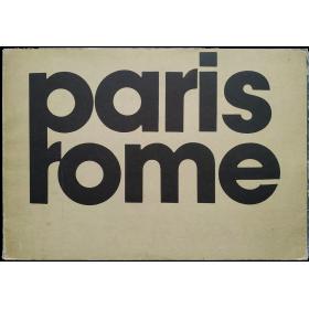 Paris Rome: Daniel Boudinet, Élisabetta Catalano, Michel Delaborde, Franco Fontana, Luigi Ghirri, Bernard Plossu