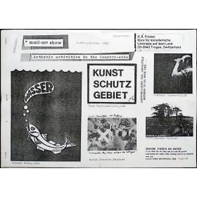 Mail-Art show - Artistic activities in the Country-side. Trogen, Switzerland, 2 Okt. - 13 Nov. 1982