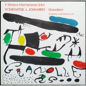 1ª Mostra Internacional d'Art Homenatge a Joan Miró - 1ª Muestra Internacional de Arte Homenaje a Joan Miró
