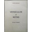 Versículos y notas (Viaje a Sanet)