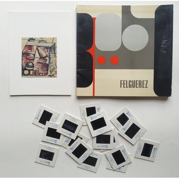 Felguérez - El espacio múltiple. Museo de Arte Moderno, México, del 20 de diciembre de 1973 al 17 de febrero de 1974