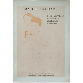 Marcel Duchamp - The lovers. The Milan Civic Library,  April 8-30 1969
