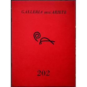 Boetti -  [Le  pendu]. Galleria  dell'Ariete, Catalogo  202, Milano, marzo 1977