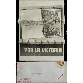 Festival Internacional de Gráfica en solidaridad con los pueblos de Centroamérica y el Caribe. México, octubre de 1982