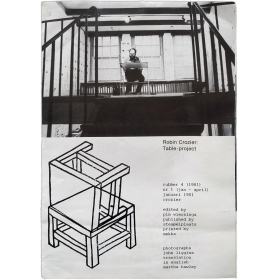 Rubber Vol. 4, Nr. 1, jan.-april 1981. Robin Crozier: Table-project