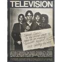Television - Marquee Moon. Billboard, april 16, 1977