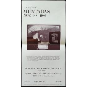 Antonio Muntadas. And/Or, Seattle, Nov. 1-8 1980