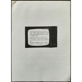 """""""El video como medio de expresión, comunicación e información"""". Galería Vandrés, [Madrid], 17 Diciembre 1974"""