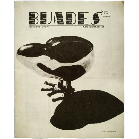Buades. Periódico de Arte. Número 8-9, Febrero-Marzo 1987. Tercera época