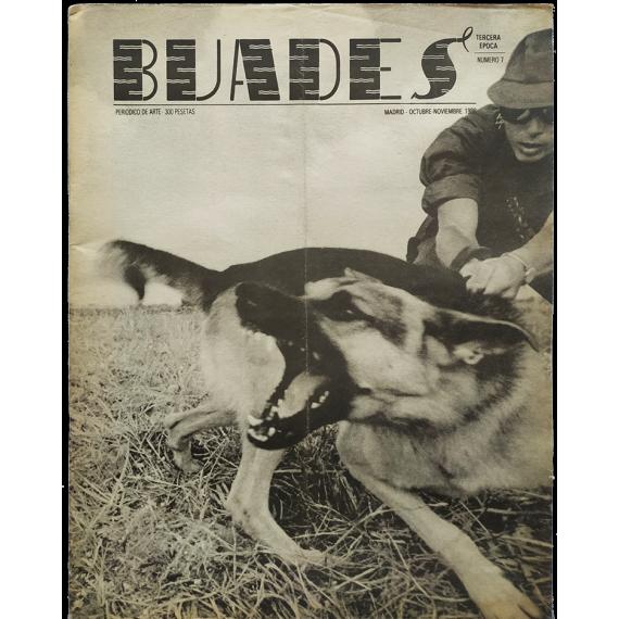 Buades. Periódico de Arte. Número 7, Octubre-Noviembre 1986. Tercera época