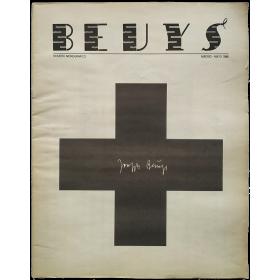 Buades. Periódico de Arte. Número 6, Mayo 1986. Segunda época. Número monográfico dedicado a Joseph Beuys