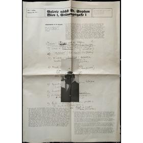 Galerie nächst St. Stephan. Jahrgang 1974 / Nr. 1. Ausstellungen Künstler Berichte