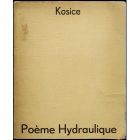Poème Hydraulique. L'architecture de l'eau