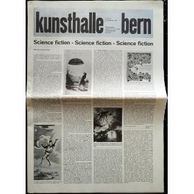Kunsthalle Bern, 8. Juli-17. September 1967: Science fiction