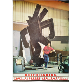 Keith Haring: Paintings. Tony Shafrazi, October 26 – November 30 / Sculptures. Leo Castelli, October 26 – November 23